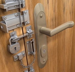 Entrance Door With Multiple Locks & Best Door Locks