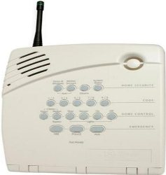 Wireless Alarm With Cellular Back U