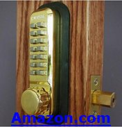 Wireless Mechanical Deadbolt Lock