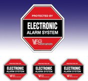 Lawn Signs & Alarm Decals